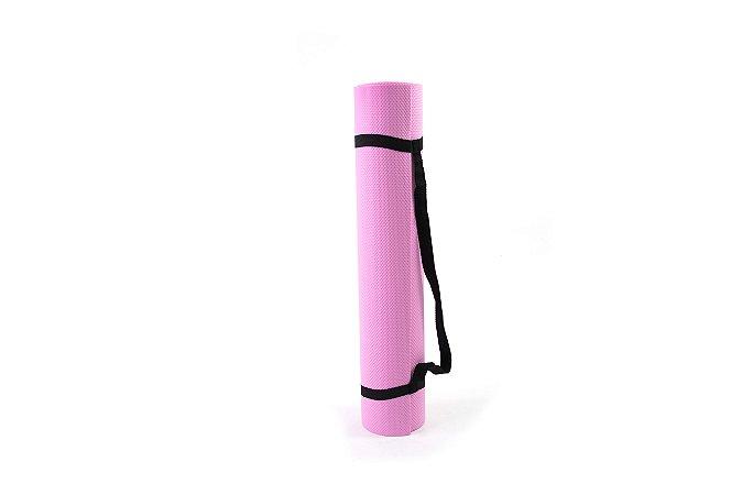 Tapete yoga/pilates rosa 0,4mm 511204