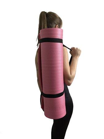 Tapete yoga/pilates rosa 0,8cm 5000608