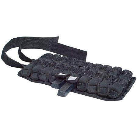 Par de pesos de pulso e tornozelo ajustáveis de 2,5kg 7201725