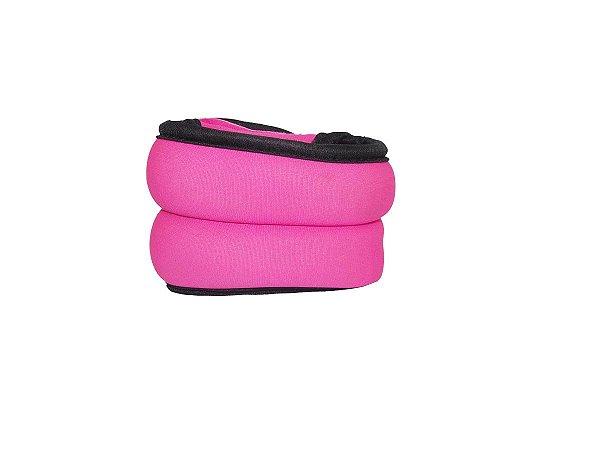 Par de pesos de pulso e tornozelo de 1kg - Rosa 7200401