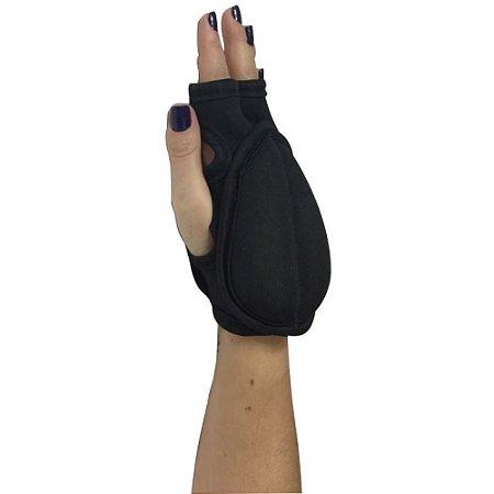 Par de pesos de pulso e tornozelo de 500g - Preto 7200105