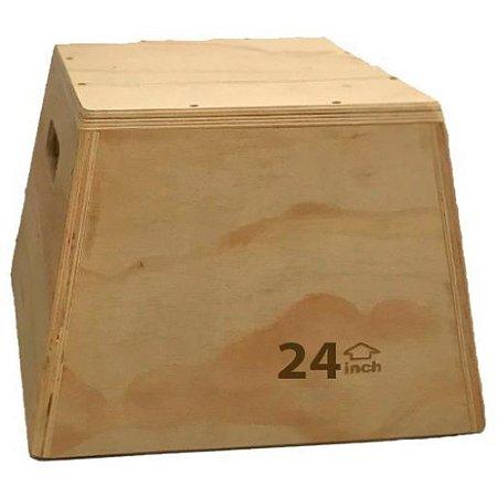 Caixa de salto de madeira de 24 polegadas 7700524