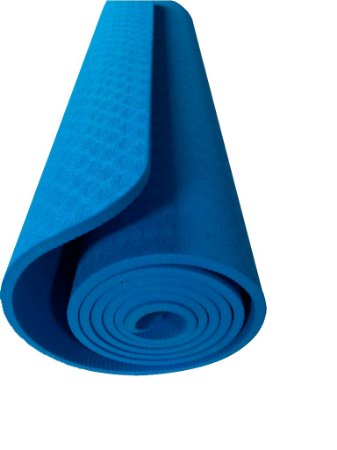 Tapete yoga/pilates azul 0,7cm 5113
