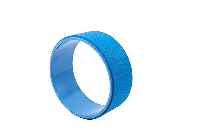 Roda de yoga azul 404080342