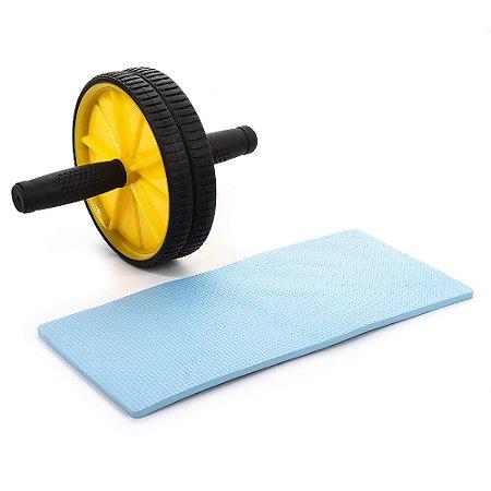 Roda de abdominal amarela 5555021
