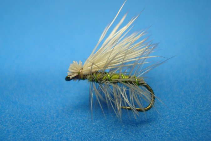ELK HAIR CADDIS GREEN