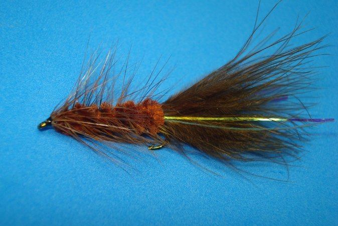 WOOLLY BUGGER BROWN