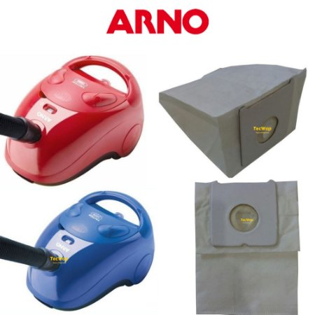 03 Sacos Descartável Para Aspirador De Pó Arno Triton 1300 1400