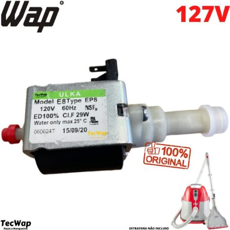 Bomba de Agua Para Extratora Wap Multi cleaner FW006292 127v