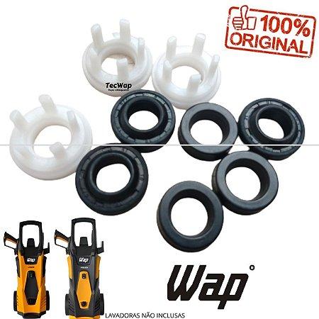 Kit Vedação + Kit Gaxetas Para Lavadora Wap Lider FW004380