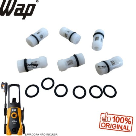 Kit Valvulas Para Lavadora Wap New Eco Wash 2200 FW005618