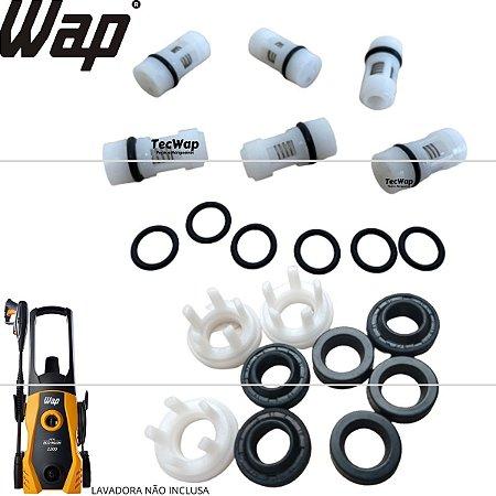 Kit Reparos com Válvula de Pressão Wap New Eco Wash FW005619 FW005618