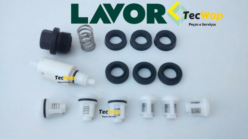 Kit By Pass + Kit Reparos Para Lavadora Alta Pressão Lavor