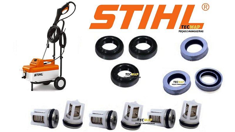 Kit Reparos c/ Valvulas Para Lavadora De Pressão Stihl RE 900 KM-Original