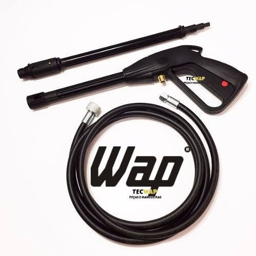 Kit Pistola Completo + Mangueira com 5 Metros Para Wap Super / Wap Bravo / Wap Valente