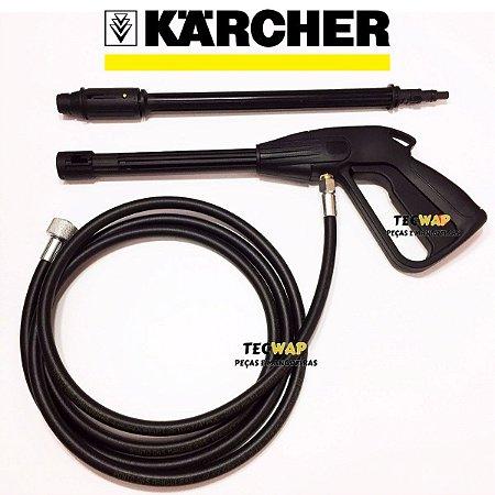 Kit Pistola Gatilho + 5 Metros Mangueira + tubeira Para Karcher