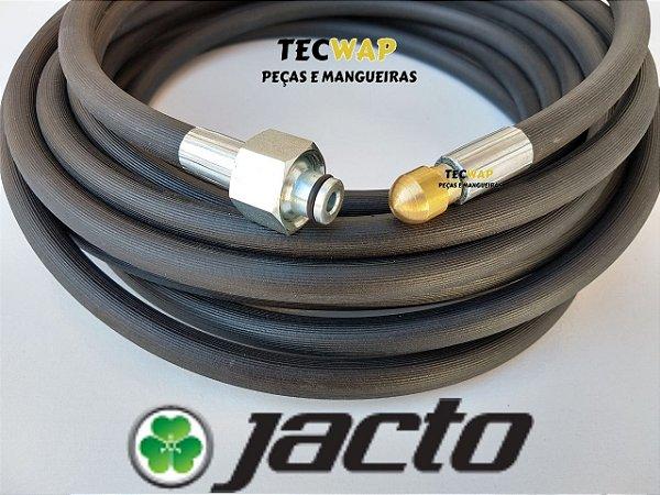10 Metros Mangueira com Bico Desentupidora Para Lavadora Jacto J7000