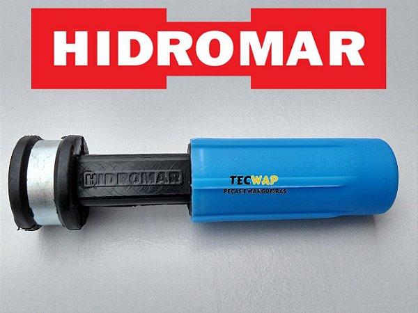 Bico Esguicho Hidromar Original Leque Regulável 4,6mm Entrada 1/2 Npt (AZUL)