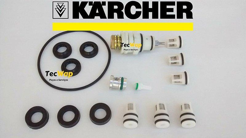 kit Reparo Completo com Valvulas Karcher K 3.30, K 340, K 310. K 320
