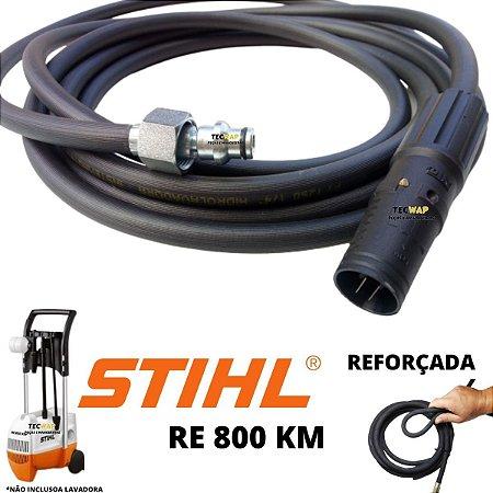 10 Metros Mangueira + Bico Variador Para Lavadora Stihl RE 800 KM