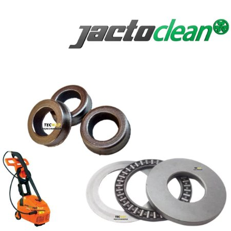Kit Gaxetas + Kit Rolamento Axial Completo Jacto J6800 / J7000