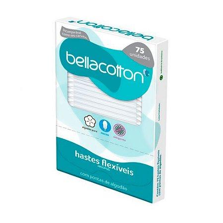 Haste Flexível Bellacotton Cartucho 75un