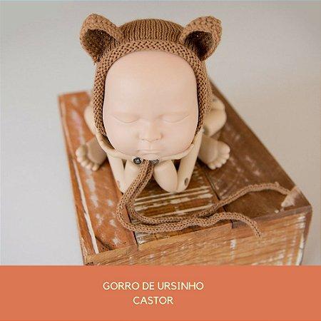 Gorro de Ursinho Castor