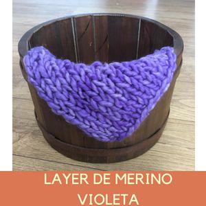 Layer de Merino Violeta