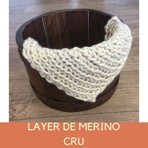 Layer de Merino Cru