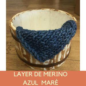 Layer de Merino Azul Maré