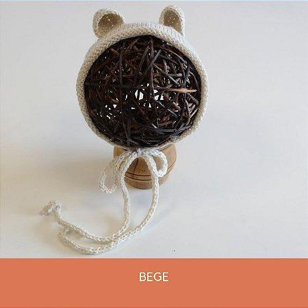 Gorro de Ursinho Bege
