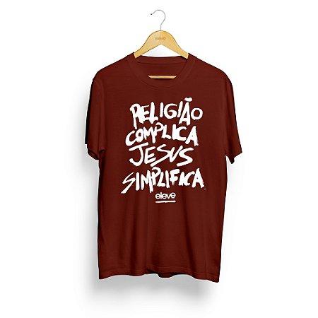 Religião Complica Jesus Simplifica Vinho