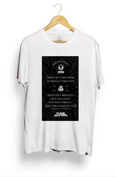 Camiseta Eleve  Star Wars - Branca