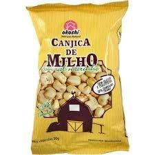 Canjica de Milho com Sal Marinho - Okoshi 50 g