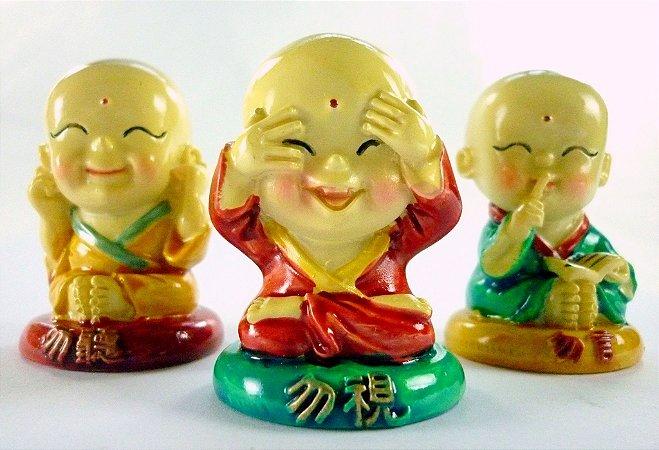 Os 3 Pequenos Monges (5cm)