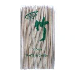 Espeto de Bambu (15cm) com 100 unidades