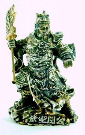 Guerreiro Kwan Kun (Prata Envelhecido)