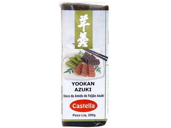 Yookan Azuki (Doce de Feijão) - Castella 200 g