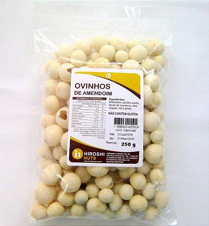 Ovinhos de Amendoim - 250 g