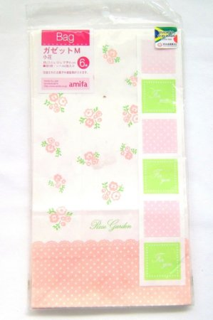 Saco de Papel para Presentes (Gazzet Little Flowers ) - com 6 unidades