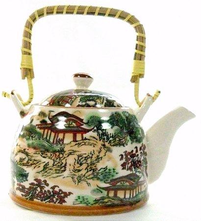 Chaleira de Porcelana Templo 0,5 litro