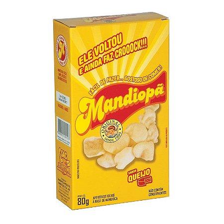 Mandiopã (Aperitivo de Mandioca) sabor Queijo 80 g