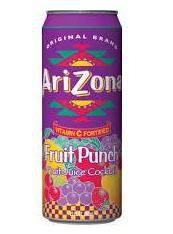 Arizona - Fruit Punch (Fruit Juice Cocktail) - 340ml