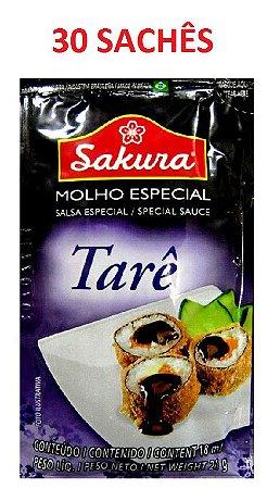 Molho Tarê em Sachês - 30 sachês x 18 ml - Sakura