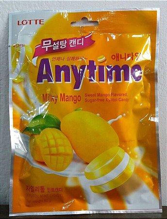 Bala de Xylitol sabor Manga SEM AÇÚCAR - Lotte  60 g
