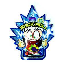 Bala que estala (Popping Candy) sabor Uva - 20 sachês x 1,5 g