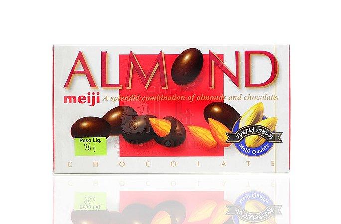 Chocolate com Amêndoas (Almond) - Meiji 96 g