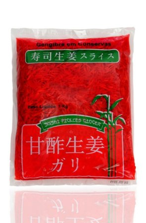 Conserva de Gengibre (Gari) - Beni Shoga 1 kg