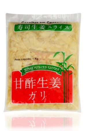 Conserva de Gengibre (Gari) 1 kg