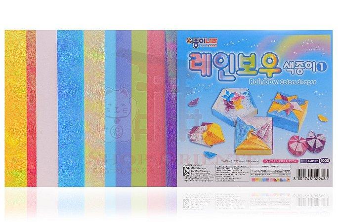 Papel de Origami 15 x 15 - 11 folhas (AM11K2)